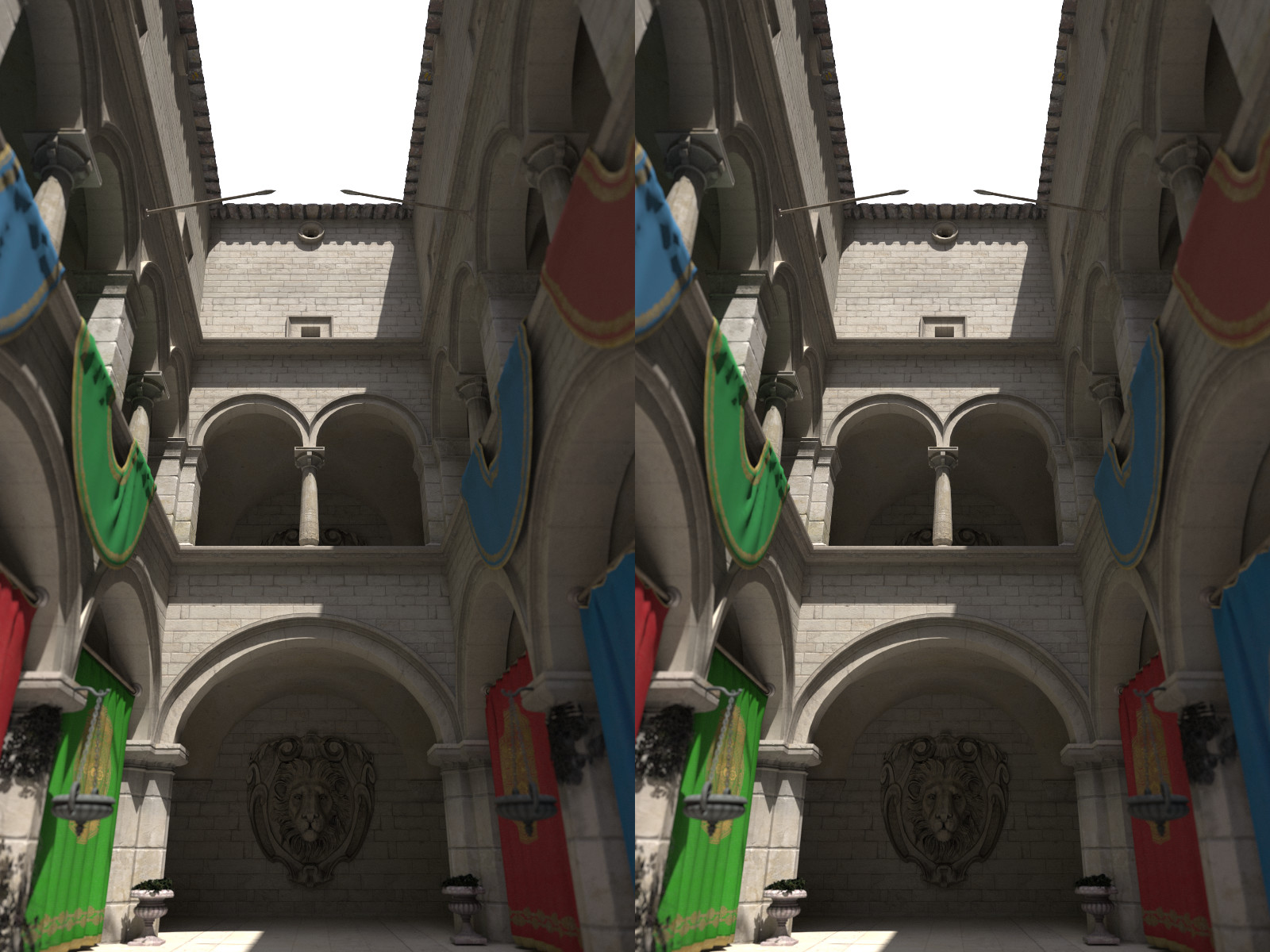 Example 3D stereo image using stereoMode side-by-side.